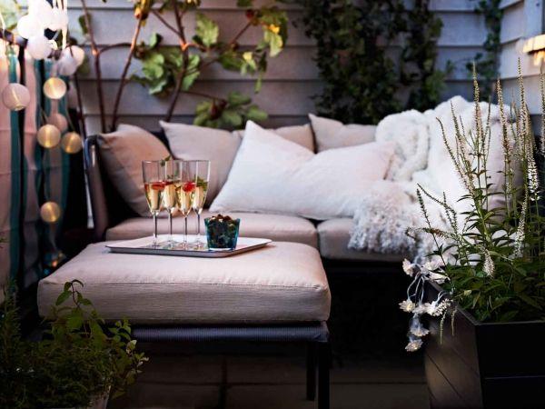 16 idées de décoration pour petit balcon | Une hirondelle dans les ...