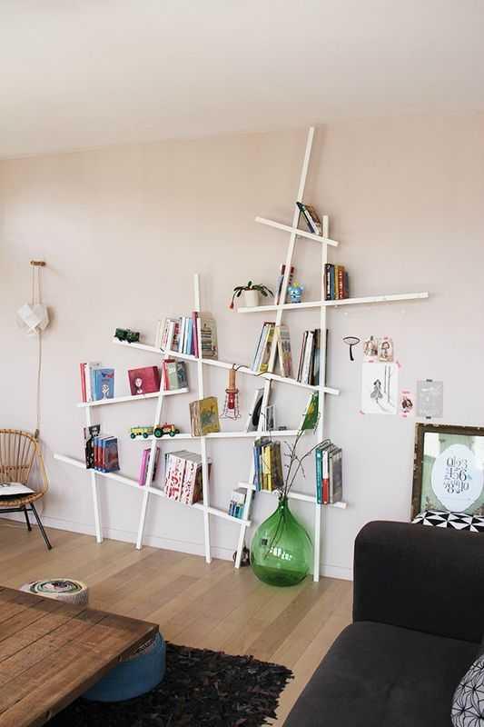 Une Bibliothèque Originale : 15 Idées De Bibliothèques Déco | Une