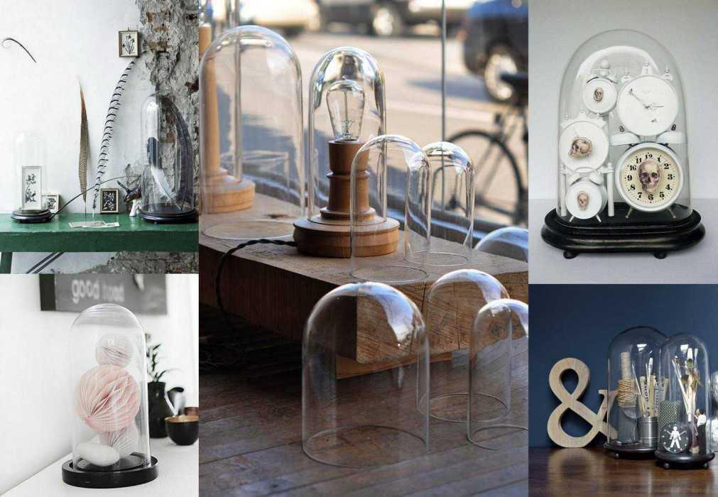 globe en verre : 10 idées pour une déco sous cloche ! | une