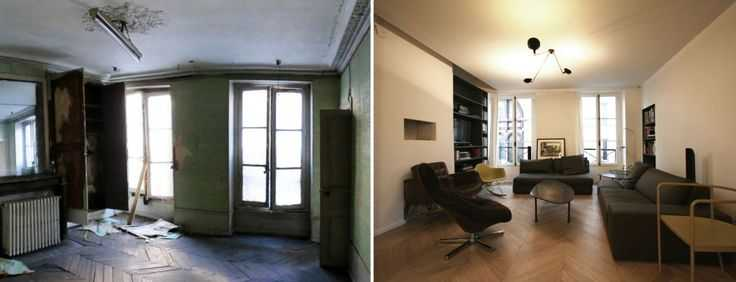 renovation appartement ancien avant apres