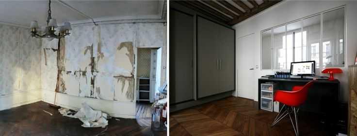 avant / après : rénovation d\'un appartement par Julie Alazard | Une ...