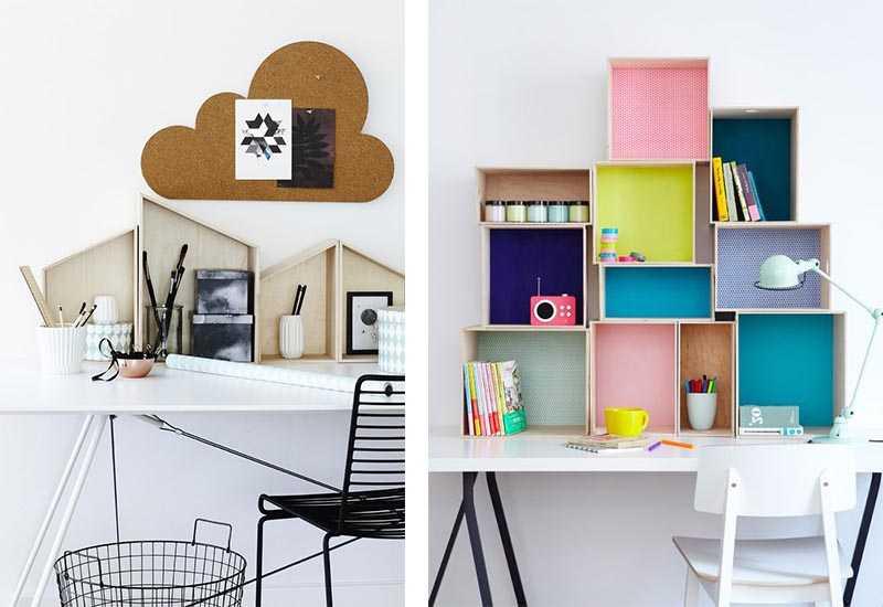 rangement du bureau 9 solutions d co pour ranger son bureau une hirondelle dans les tiroirs. Black Bedroom Furniture Sets. Home Design Ideas
