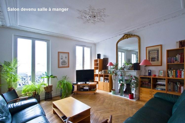 Connu Avant / après d'un appartement haussmannien | Une hirondelle dans  RN43