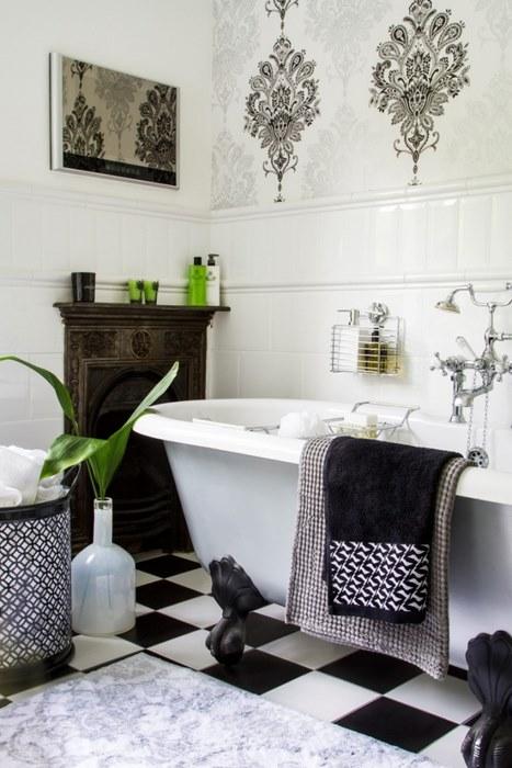 papier peint salle de bain 8