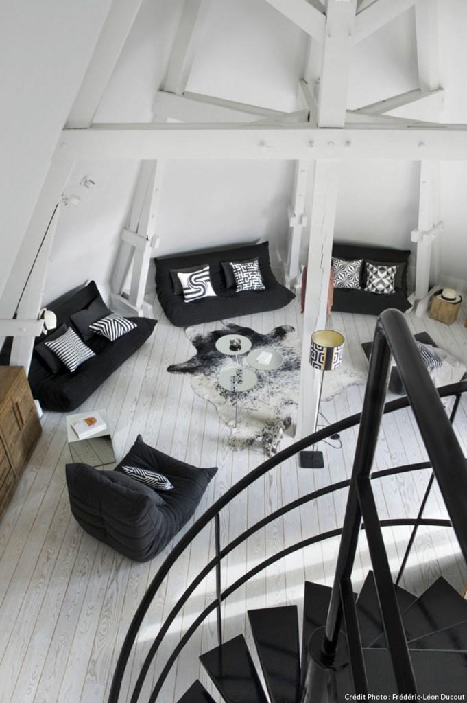 decoration noir et blanc6
