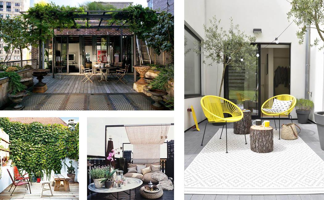 aménager sa terrasse : 26 idées et astuces ! | Une ...