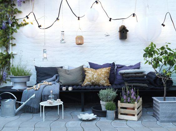 Aménager Sa Terrasse : 26 Idées Et Astuces ! | Une Hirondelle Dans
