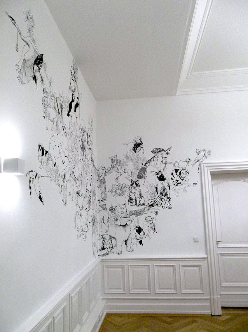 fresque murale deco 1