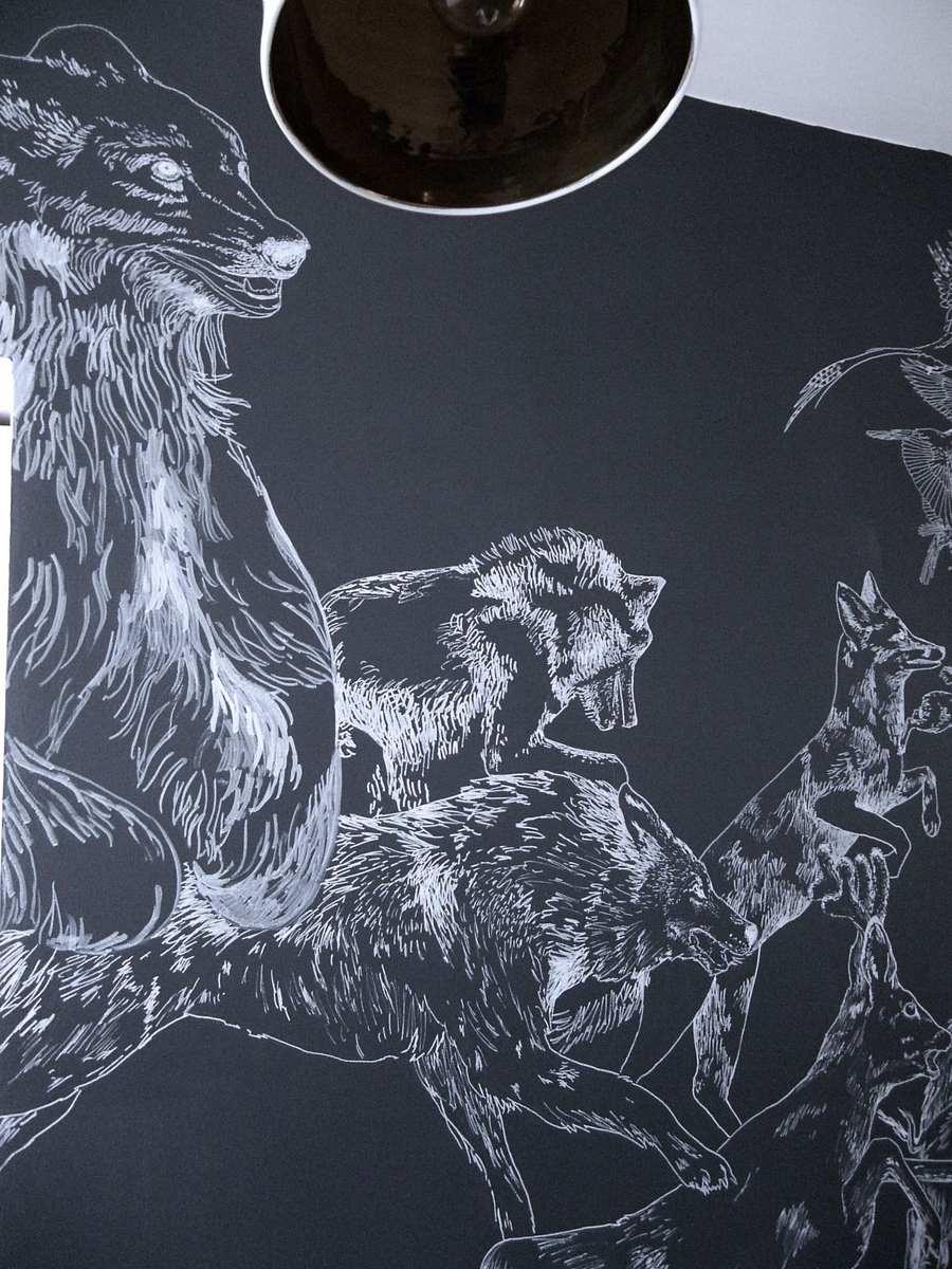 fresque murale deco 17
