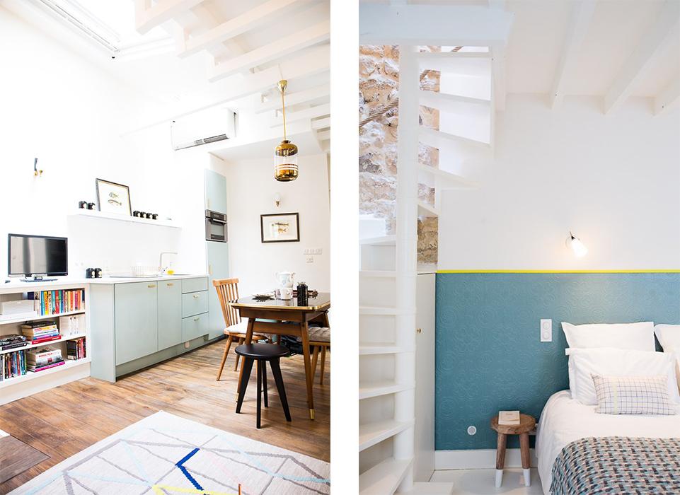 la r novation d 39 une petite maison parisienne une hirondelle dans les tiroirs. Black Bedroom Furniture Sets. Home Design Ideas
