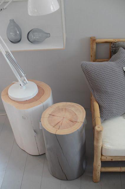 tendance le rondin de bois dans la d co une hirondelle. Black Bedroom Furniture Sets. Home Design Ideas