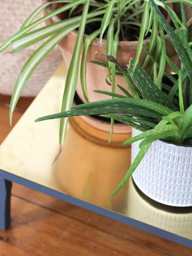 DIY laiton porte plantes 2