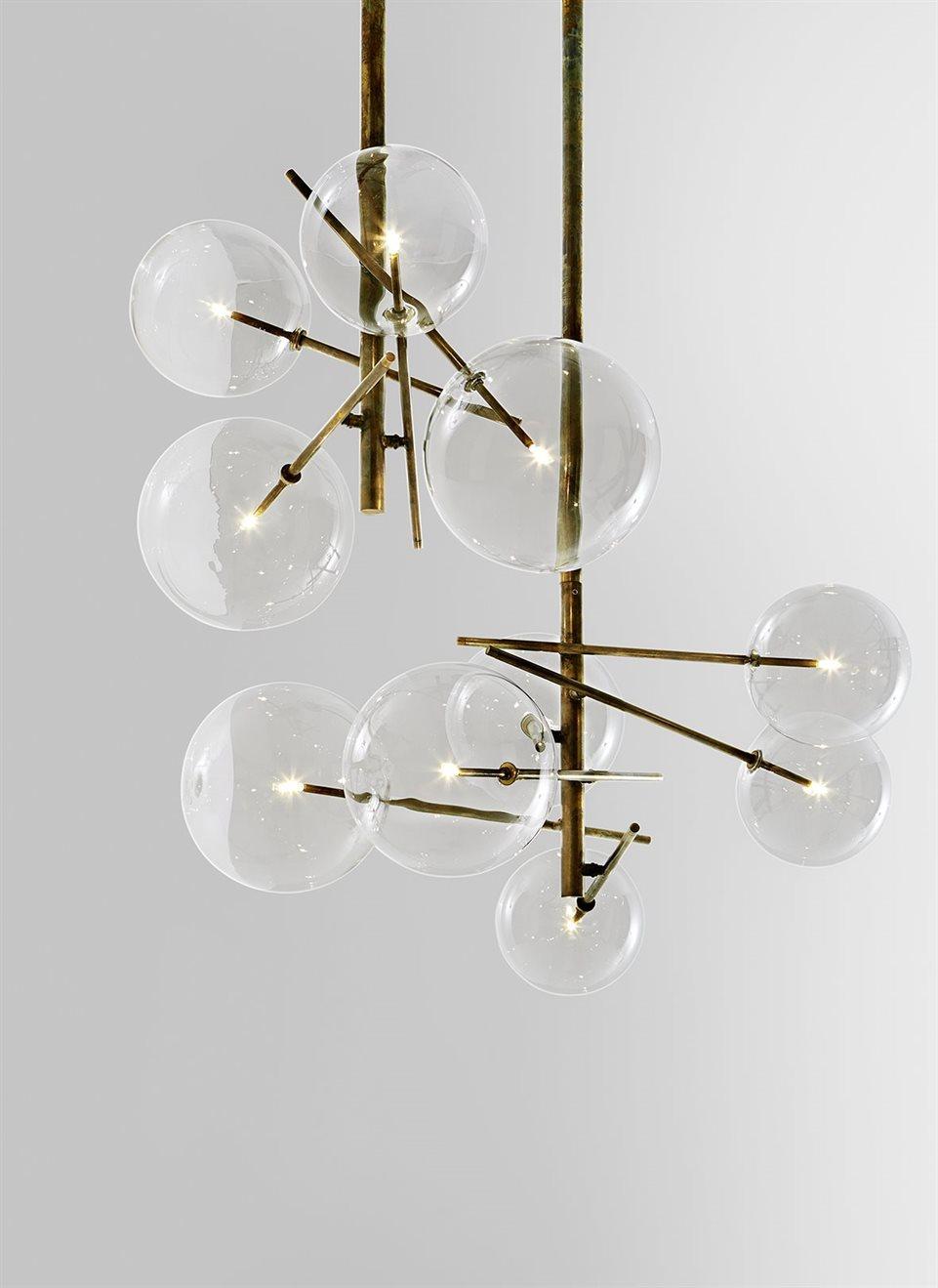 Design les lampes bolle de gallotti et radice une for Luminaire design