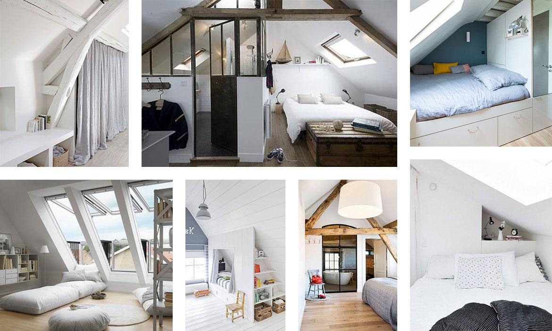 aménager une chambre sous les combles  12 idées pour vous ...