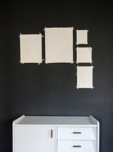 arrocher cadres DIY mur cadres