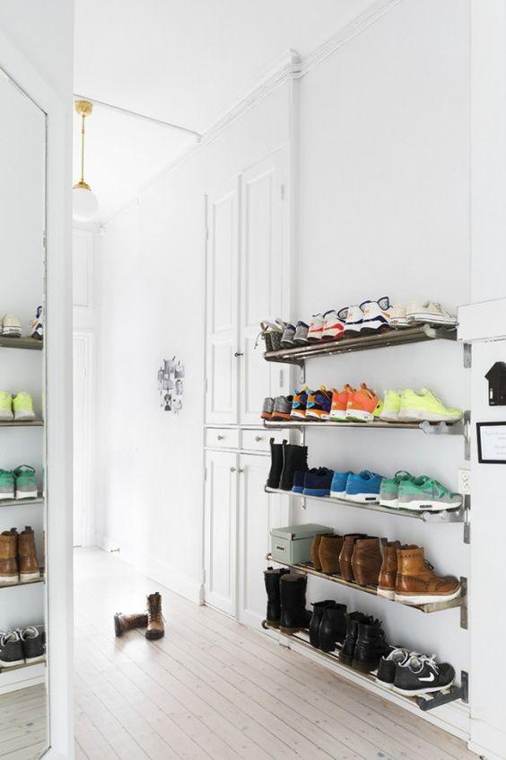 28 idées pour ranger les chaussures | Une hirondelle dans les tiroirs