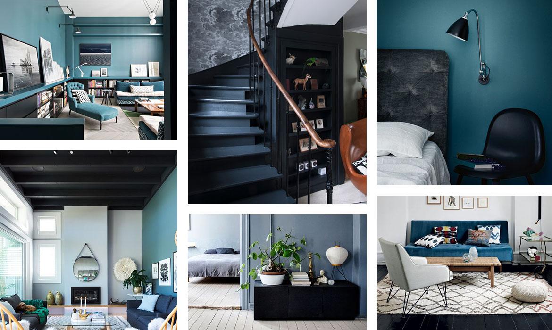 Deco En Bleu Et Noir 18 Inspirations Pour Un Mariage