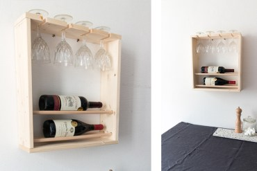 DIY mini bar