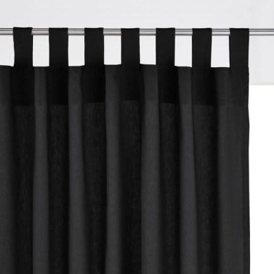 des rideaux noirs dans la maison une hirondelle dans les. Black Bedroom Furniture Sets. Home Design Ideas