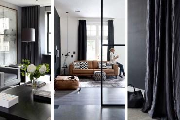 rideaux noirs