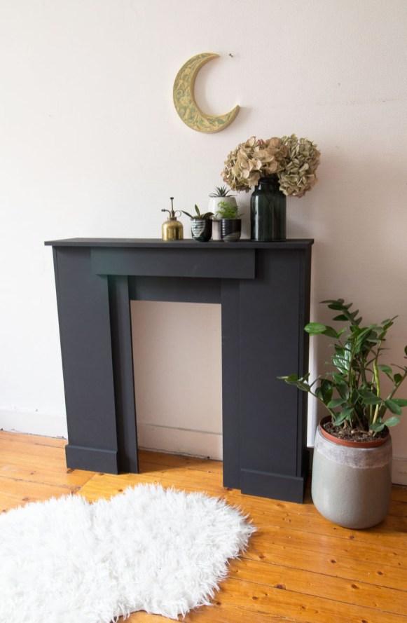 DIY fausse cheminee
