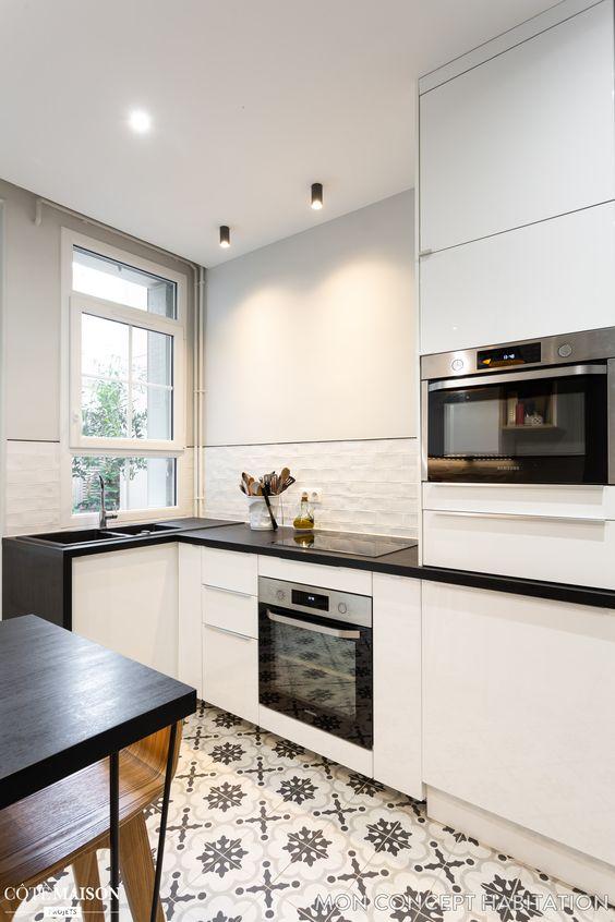 idee-deco-cuisine-blanche- (1) | Une hirondelle dans les tiroirs