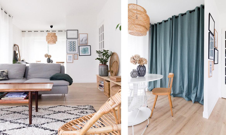 Relooking Appartement Avant Après séjour avant / après : bienvenue chez moi ! | une hirondelle