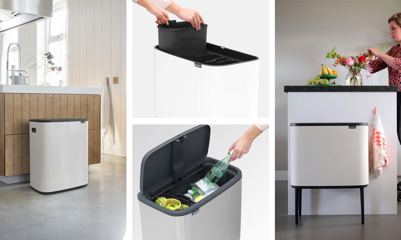 une poubelle écolo et design pour trier ses déchets   Une ...
