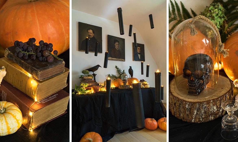 DIY déco Halloween : bienvenue dans ma maison hantée  Une