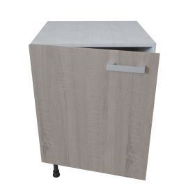 meuble bas 1 porte 60 cm bardolino