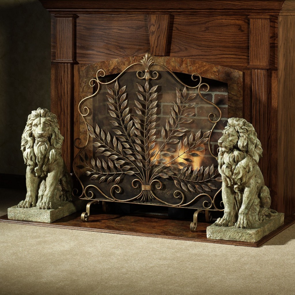 Decorative Fireplace Screens For Styling A Fireplace