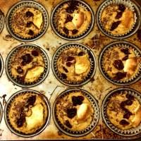 Muffins aux dattes et pommes