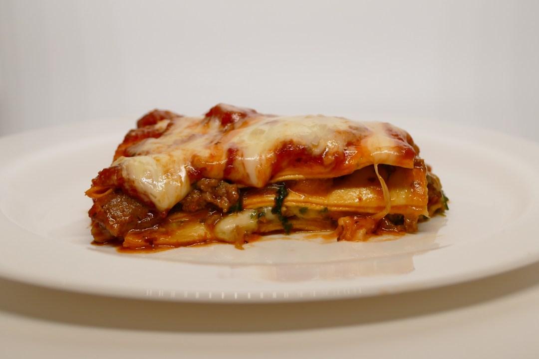 lasagne à la saucisse italienne et au friulano
