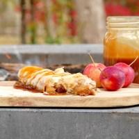 Chaussons aux pommes et au caramel à la fleur de sel