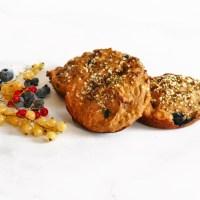 Galettes du petit déjeuner (ou pas) aux bleuets et aux bananes sans sucre ajouté