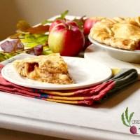 Tarte aux pommes et à l'érable