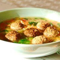 Soupe-repas végétalienne «noces italiennes»