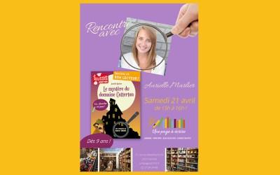 Rencontre avec l'auteure jeunesse Aurielle Marlier, samedi 21 avril à 15h