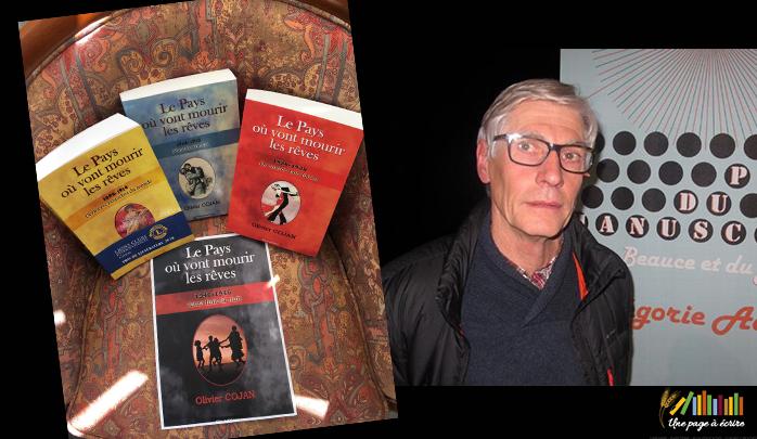 Rencontre / dédicaces avec Olivier Cojan, auteur de la saga Le Pays où vont mourir les rêves | Samedi 1er septembre 2018