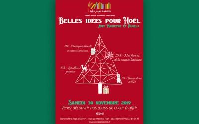 Présentation d'idées cadeaux pour Noël, samedi 30 novembre 2019 à partir de 14h