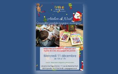Atelier de Noël pour les enfants avec la maison Lito, mercredi 11 décembre 2019