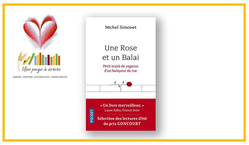 Michel Simonet, Une Rose et un Balai (Pocket, 2019)
