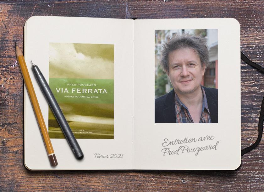 Via Ferrata : poésie et trains régionaux – Entretien avec Fred Pougeard