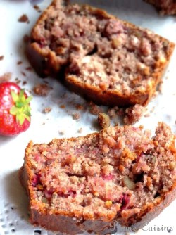 Cake-fraises-et-huile-d'olive