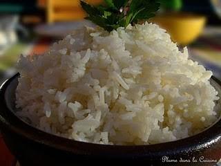 LE RIZ : faut-il laver le riz, comment réussir le riz, comment cuire le riz etc…