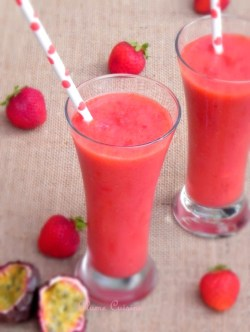 Smoothie-fraises-passion