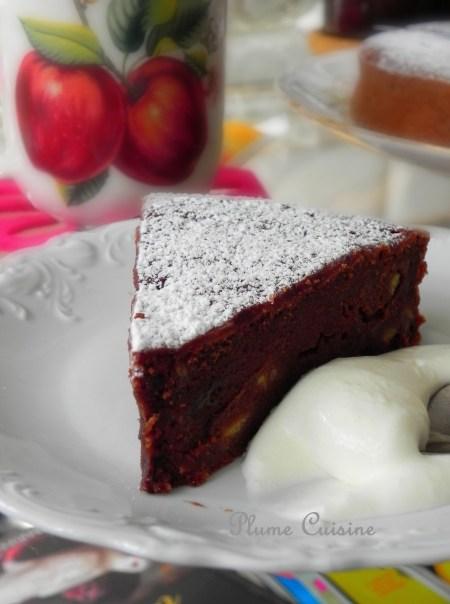 Gâteau banane-chocolat (7)