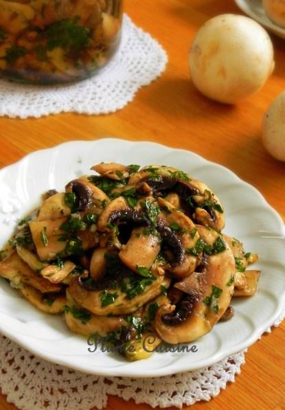 champignons marinés (3)