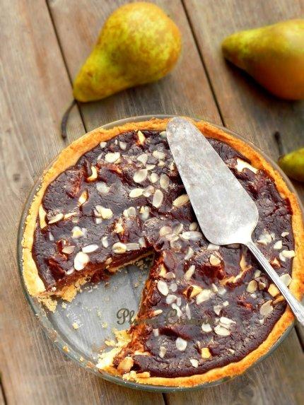 tarte chocolat poires (9)