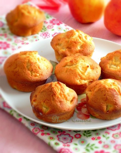 Muffins-aux-pommes
